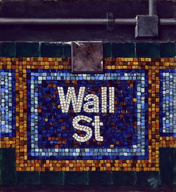 , 'Wall St. Mosaic,' 2017, Gallery Henoch