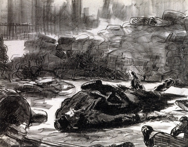 , 'Guerre civile,' 1871, Jeu de Paume
