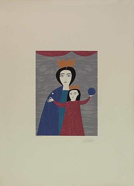 Alfredo Volpi, 'Queen and Princess', 1970-1980, LAART