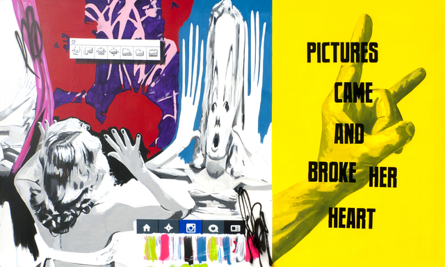 , 'PICTURES CAME AND BROKE HER HEART,' 2015, Fabien Castanier Gallery
