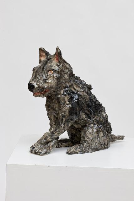 Klara Kristalova, 'Dog with legs crossed', 2017, Lehmann Maupin