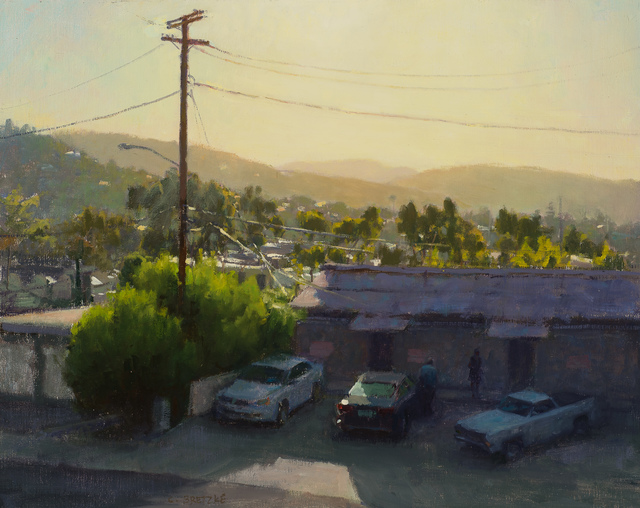 , 'Cliff Drive,' 2016, Susan Calloway Fine Arts