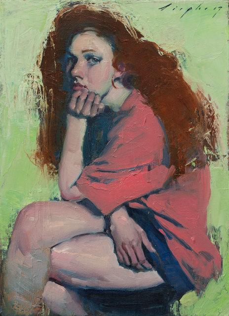 , 'Big Red Hair,' 2017, Pontone Gallery