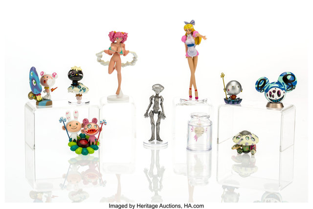 Takashi Murakami, 'Superflat Museum (ten works)', 2005, Heritage Auctions