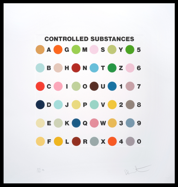 , 'Controlled Substance Key Spot/Ph,' 2012, Um Galeria