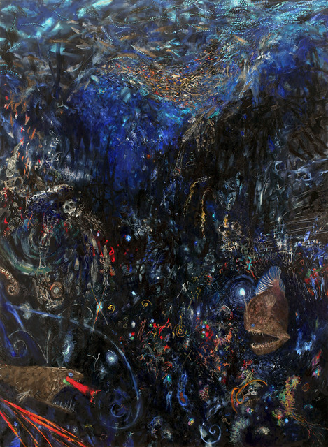 Joyce Yamada, 'Glowfish, Quarks, and Quasars', 2015, Amos Eno Gallery