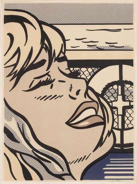 Roy Lichtenstein, 'Shipboard Girl (Corlett II 6)', 1965, Print, Color offset lithograph, on wove paper, Doyle