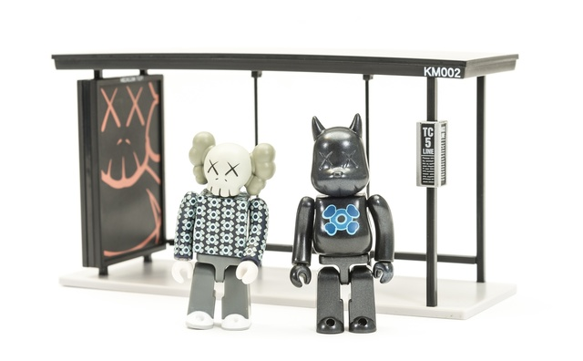 KAWS, 'Kubrick Bus Stop volumes 1 & 2', 2002, Other, Two sets of painted vinyl multiples, Forum Auctions