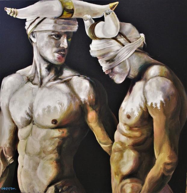 , 'Hommes-Taureaux XXI,' , Bouillon d'Art Galerie