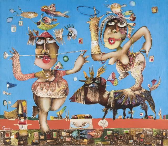 , 'Hee-hee-ha-ha,' 2000, Ararat Gallery