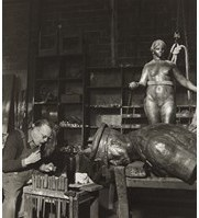 , 'The Rudier Foundry,' ca. 1950, Grob Gallery