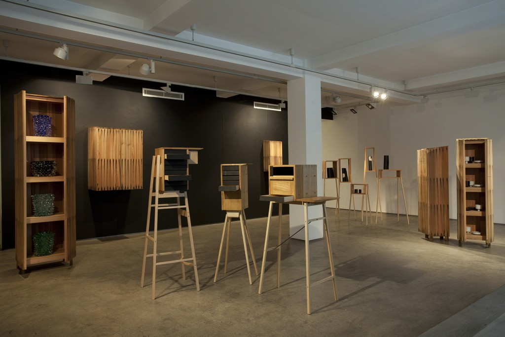 'On Display' in partnership with the London Design Festival, 12- 21 September 2014, Sarah Myerscough Gallery.Photo Credit Anna Arca