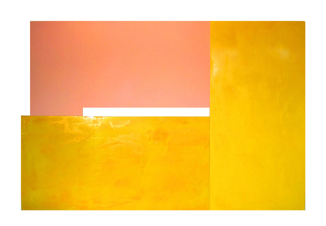 , 'Yellowwithfleshspray,' 2011, Gallery House
