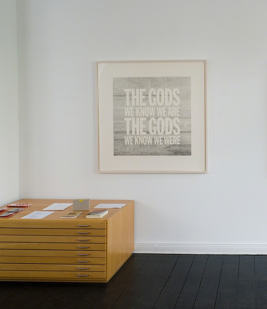 """The Gods We Know We Are The Gods We Know We Were"" by John Giorno"
