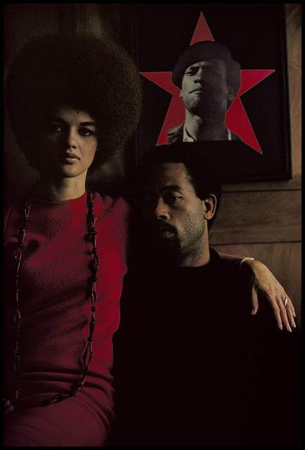 Gordon Parks, 'Eldridge Cleaver and His Wife, Kathleen, Algiers, Algeria', 1970, Aperture Foundation Benefit Auction