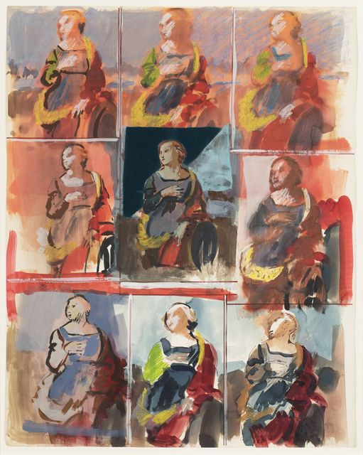 , 'The Saint (St. Catherine of Alexandria, Raphael),' 1965, Allan Stone Projects