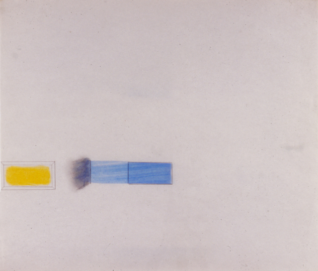 , 'Early Rutgers Drawing,' 1966, Castelli Gallery