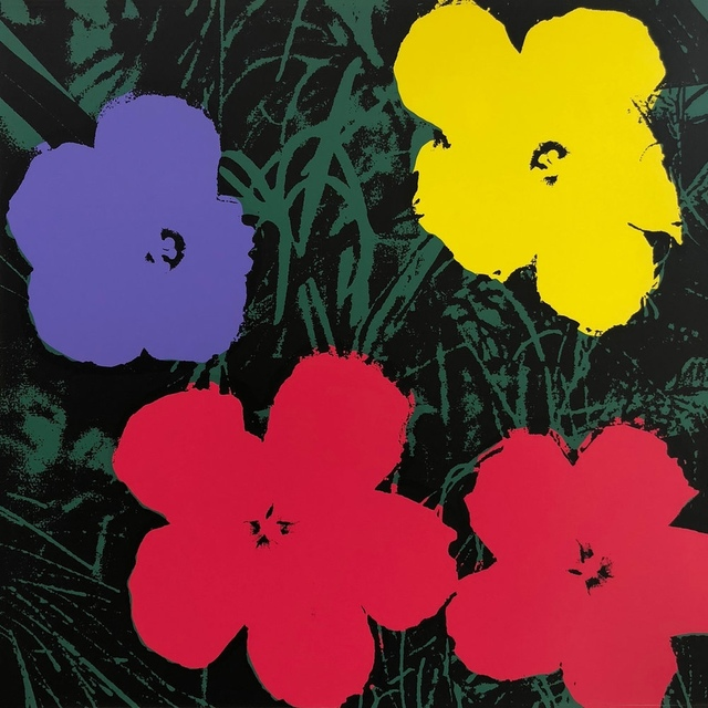 Andy Warhol, 'Flowers (Sunday B. Morning) (set of ten)', 2018, Print, The complete set of ten screenprints in colours, Forum Auctions
