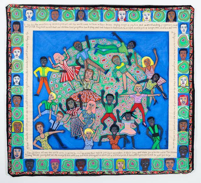 Faith Ringgold, 'Ancestors Part II', 2017, Montclair Art Museum