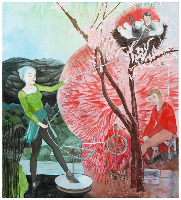 , 'Drei Parzen,' 2016, Galerie Kleindienst