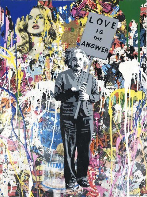 , 'Einstein,' 2018, Hamilton-Selway Fine Art
