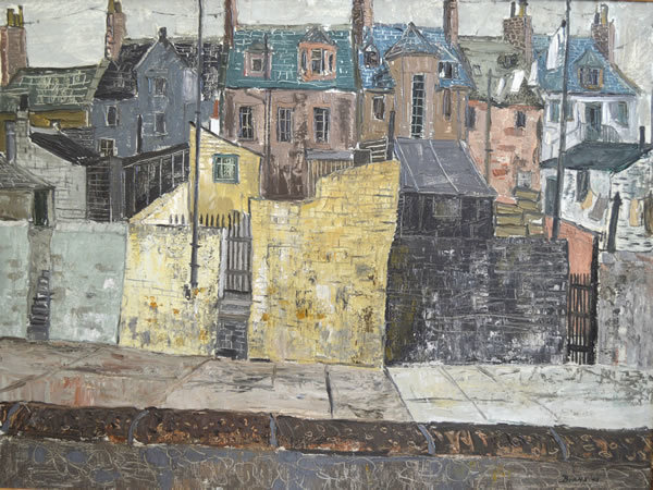 , 'A Terrace,' 1948, The Scottish Gallery