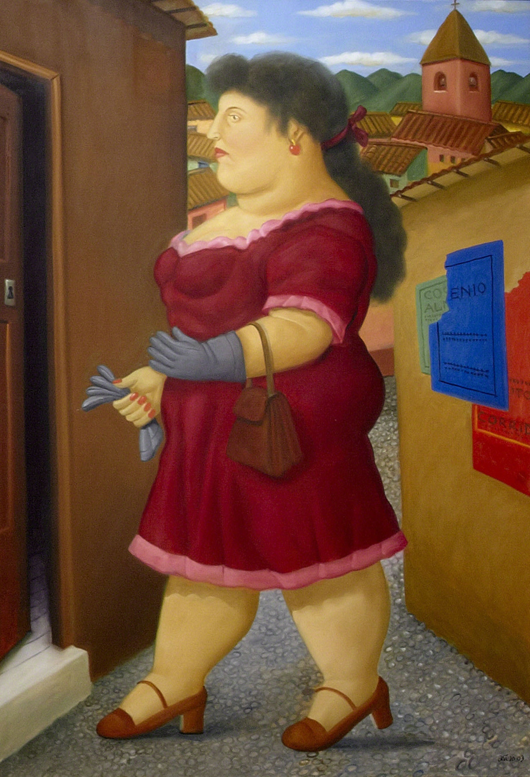 , 'Walking Woman,' 2013, Galeria El Museo