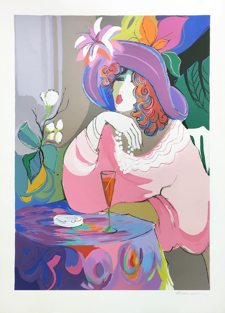Isaac Maimon, 'CHAMPAGNE GIRL', 1990, Print, SERIGRAPH ON PAPER, Gallery Art