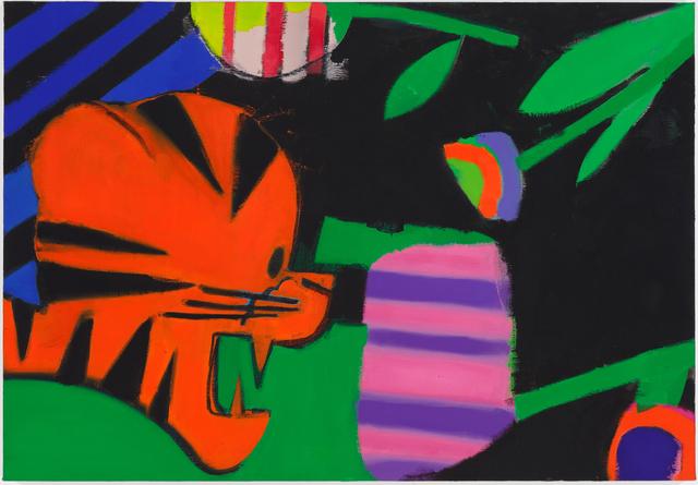 Ellen Berkenblit, 'Tiger vs. Stripes', 2015, Choice Works: Benefit Auction 2017