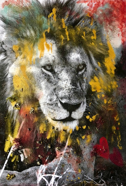 , 'Lion Heart,' 2018, Isabella Garrucho Fine Art