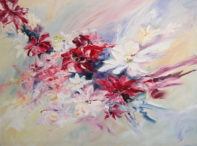 Aleona Isakova, 'Flowers appear ', 2017, Recreational Enterprises & Perseus Gallery