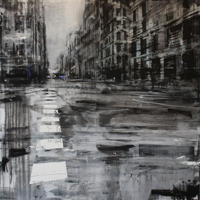 , 'La passeggiata del poeta spagnolo,' 2018, Galleria Punto Sull'Arte