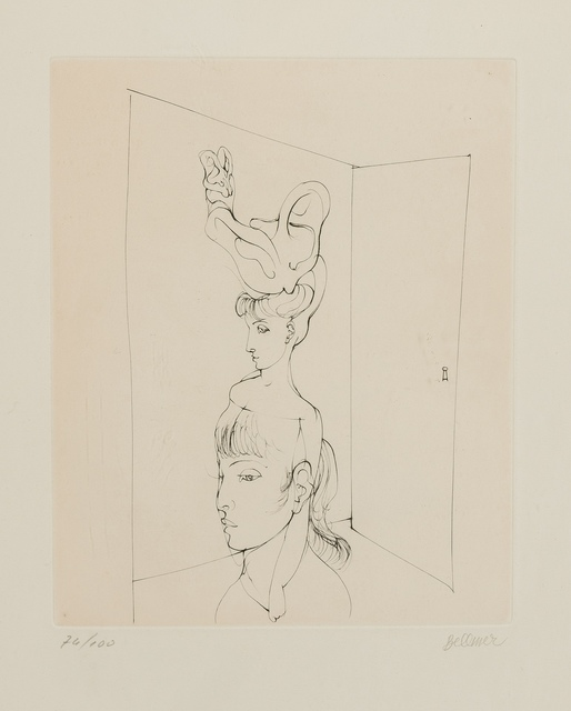 Hans Bellmer, 'A plate, from Alain Jouffroy, Les Anagrammes du Corps', 1973, Forum Auctions