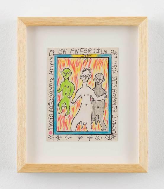 , 'Trois méchants hommes en enfer,' 2011, Stephen Friedman Gallery