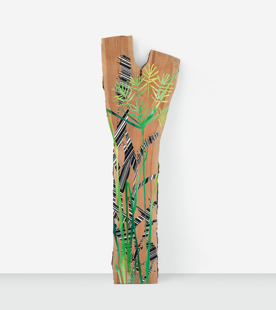 , 'The Foxtail and The Nut Grass,' 2019, Miles McEnery Gallery