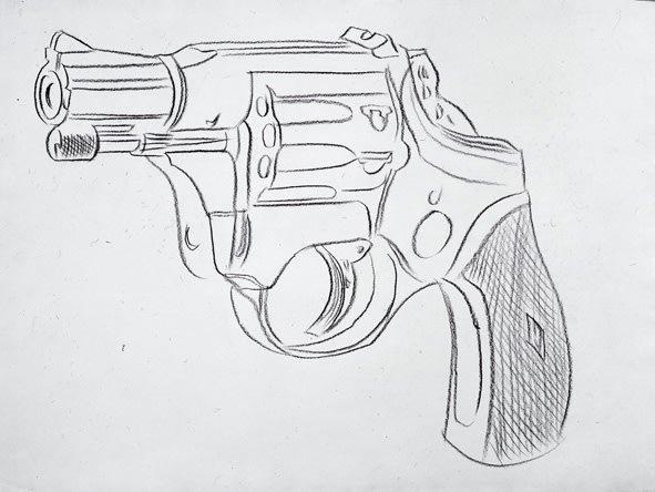, 'Gun,' 1981-1982, New York Academy of Art