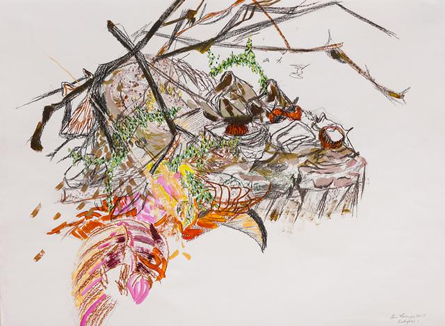 , 'Island/Centerpiece 1,' 2015, BoxHeart