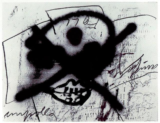 Antoni Tàpies, 'Variations Sur Une Theme Musical 1', 1987, Mario Mauroner Contemporary Art Salzburg-Vienna