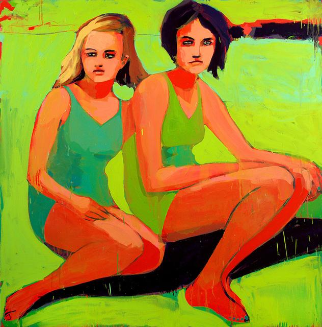 , 'Bathers at Deep Eddy,' 2017, Wally Workman Gallery