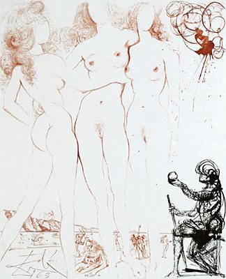 Salvador Dalí, 'The Judgement of Paris', 1963, Galerie d'Orsay