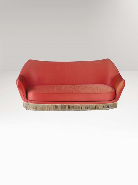 Stupendous Isa Bergamo A Sofa With A Wooden Structure And Fabric Uwap Interior Chair Design Uwaporg