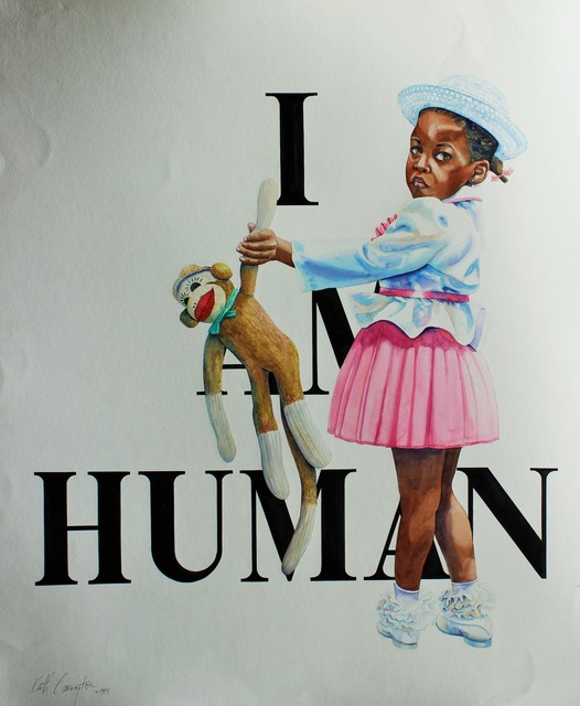 , 'I am Human,' 1994, Renata Fine Arts