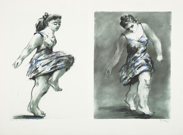William Kentridge, 'Dancer Twice', 1996-97, Phillips