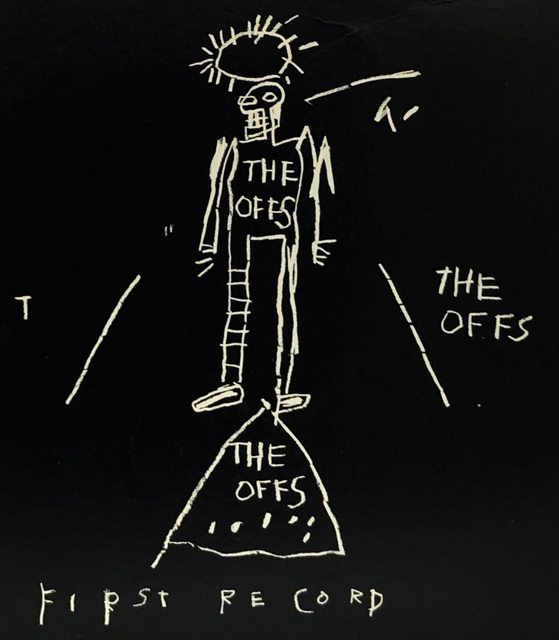 Jean-Michel Basquiat, 'Basquiat The Offs 1984', 1984, Lot 180