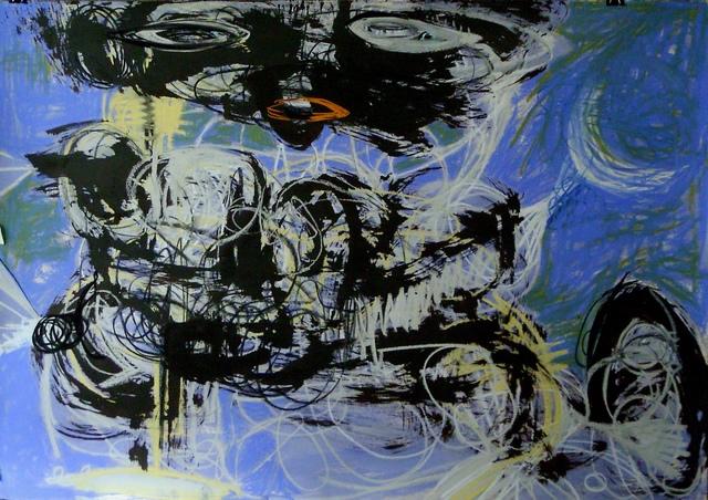 Parmis Sayous, 'The Moonslayer', 2019, Galerie Claire Corcia