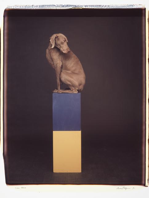 , 'Over Blue,' 1991, Huxley-Parlour