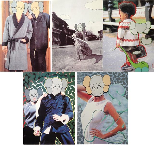 KAWS, 'Undercover collaboration (set of 5)', 1999, Print, Offset lithograph, EHC Fine Art