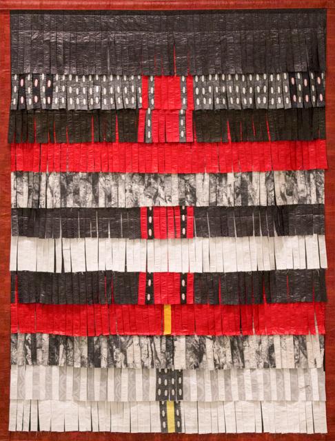 , 'Composition noir, rouge, blanc et gris,' 2016, Primo Marella Gallery