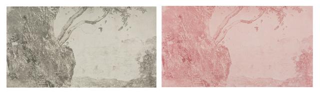 , 'Baoshi Hill in the Ancient Style No.1 – Ma Yuan 宝石山拟古(一)•马远,' 2017, Chambers Fine Art