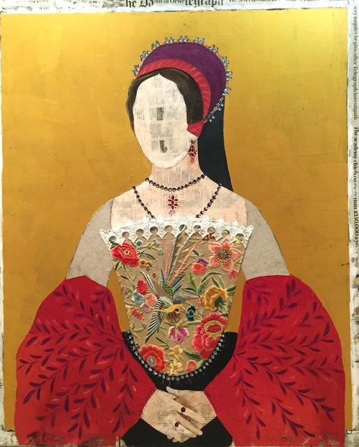 Maria Torroba, 'Golden Mary', 2017, Rebecca Hossack Art Gallery